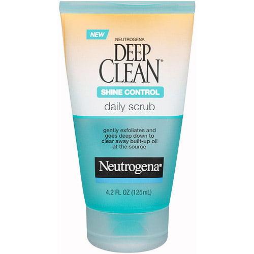 Neutrogena Deep Clean Daily Scrub Shine Control, 4.2 fl oz