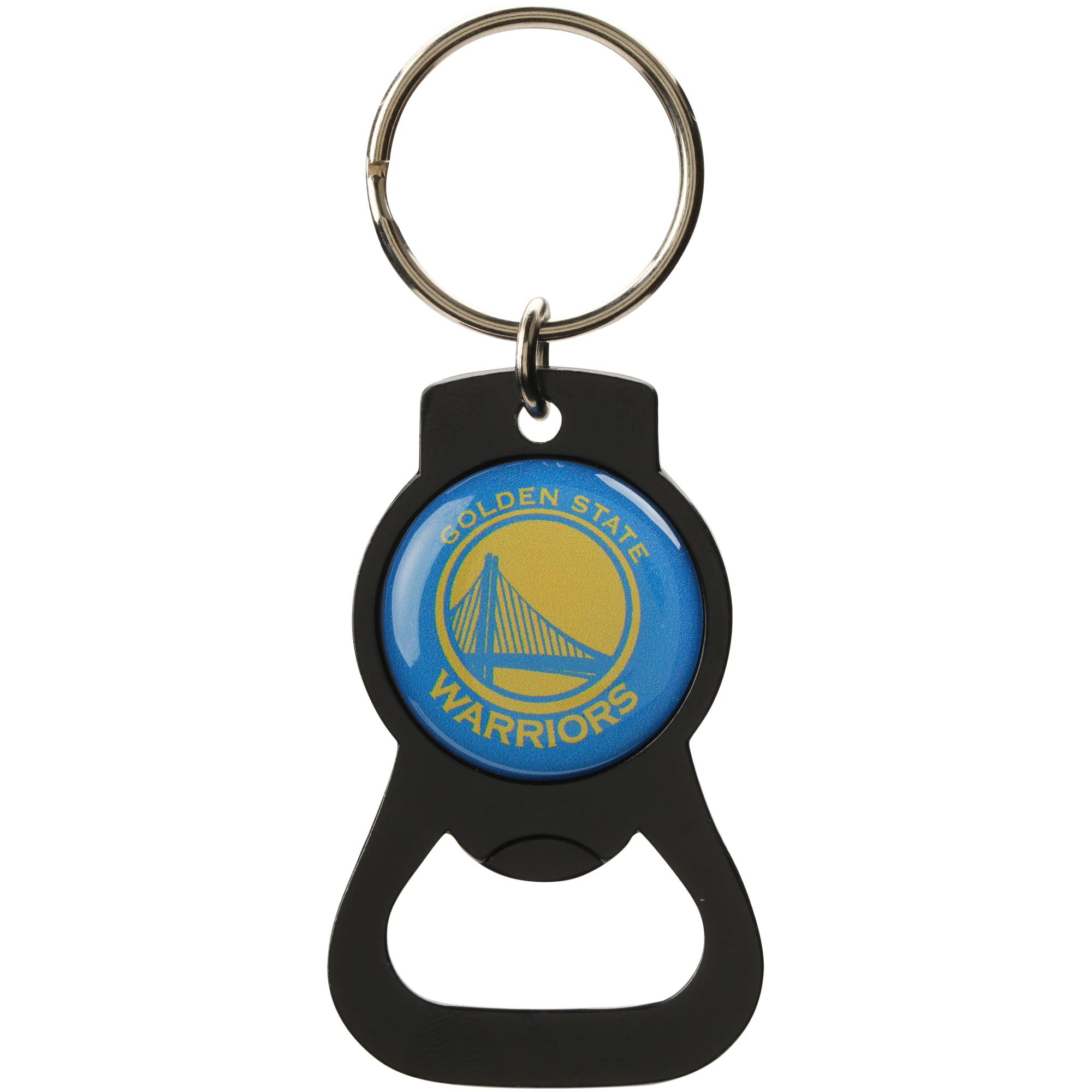 Golden State Warriors Bottle Opener Keychain - Black - No Size