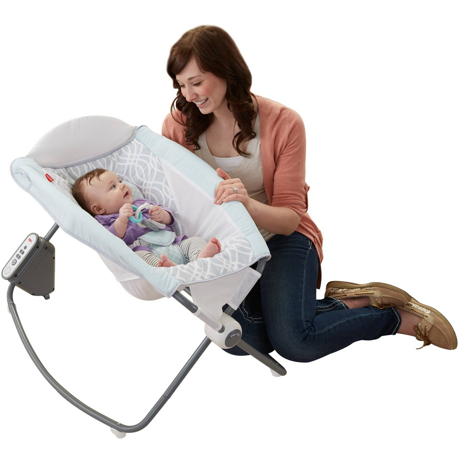 Fisher-Price Newborn Auto Rock 'n Play Sleeper Waterscape
