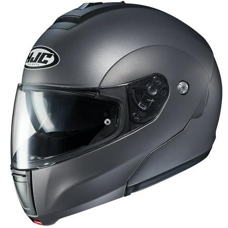 HJC CL-MAX 3 Solid Modular Helmet Semi Flat Titanium - Modular Helmet Flat