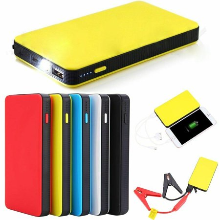 Portable Mini Slim 20000mAh Car Jump Starter Engine Battery Charger Power (Best Car Jump Starter Power Bank)