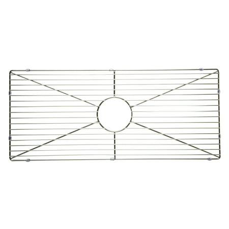 Kitchen Rectangular Sink Grid in Stainless Steel