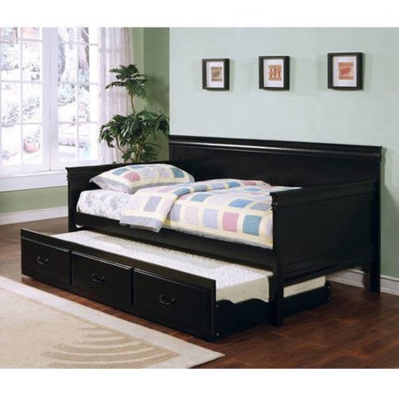 Coaster Twin Daybed in Black Finish