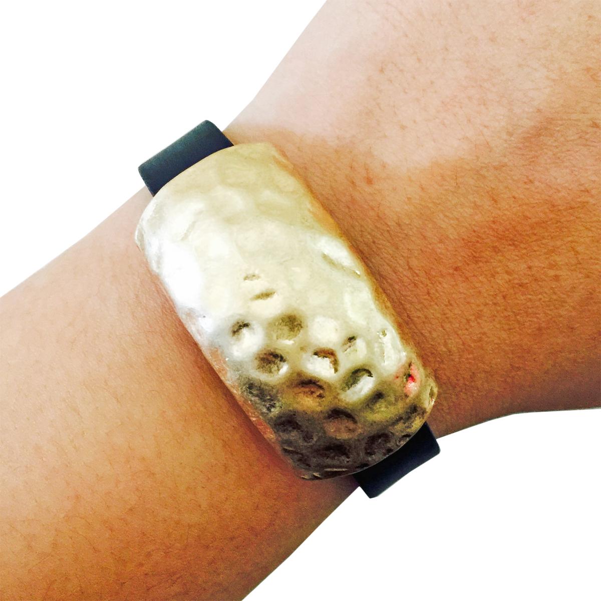 The SIRI Charm in Gold-Fitbit Flex