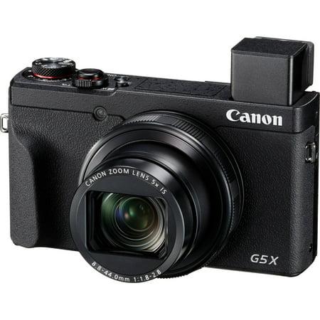 Canon PowerShot G5 X Mark II 20.1 Megapixel Compact Camera, Black