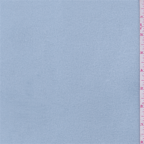 Soft Blue Stretch Micro Denier Jersey/Fleece, Fabric By the Yard