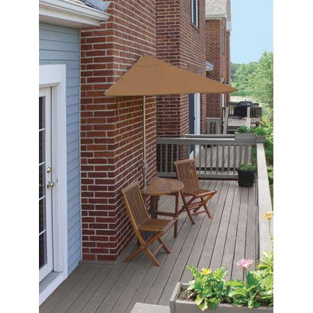 Cc Home Furnishings Oval Wood Teak Patio Set