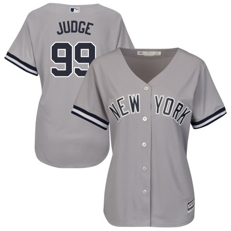 8a8ccde23d9 Aaron Judge New York Yankees Majestic Women's Road Cool Base Replica Player  Jersey - Gray