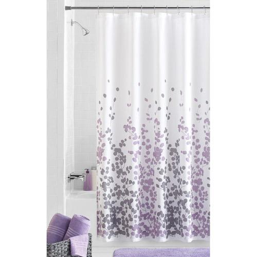 mainstays sylvia fabric shower curtain - walmart