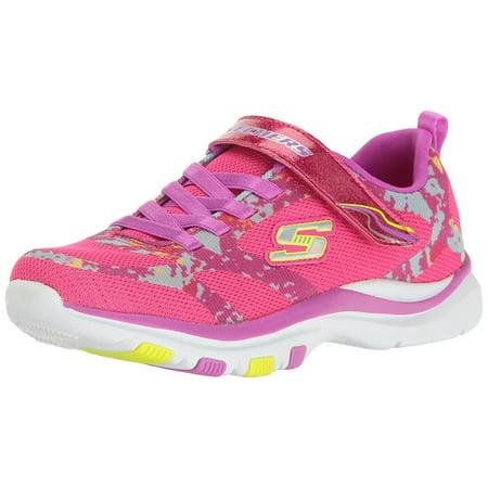 d6d3660795f4 Skechers - Skechers Kids Girls  Trainer Lite-Bright Racer Sneaker ...