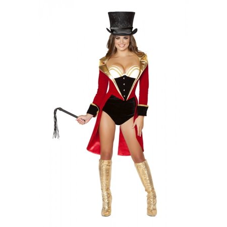5pc Naughty Ringleader Costume](Female Ringleader Costume)