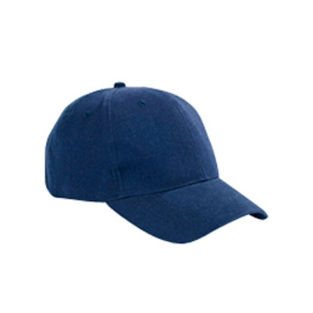 Big Accessories Ball Cap Bx002 6 Panel Brushed Twill Structured