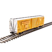 Broadway Limited 2527 HO Union Pacific PRR K7 Stock Car with Cattle Sound