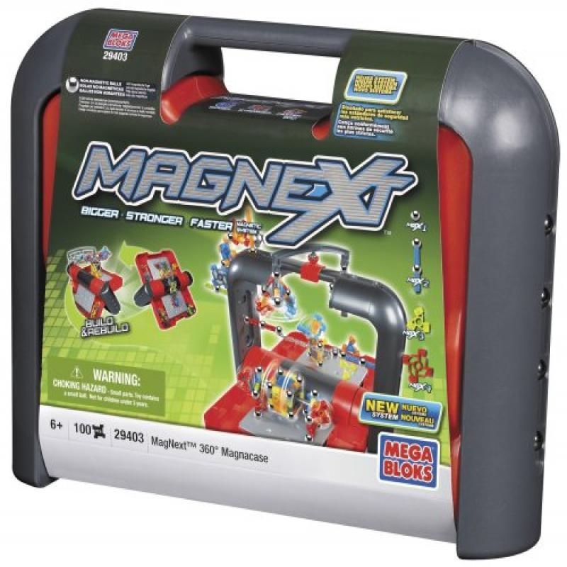 Mega Bloks MagNext 360 Case