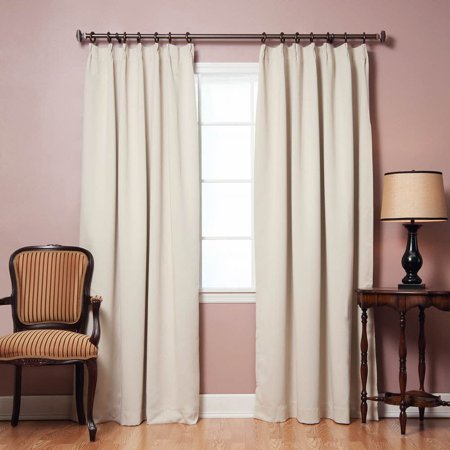 Quality home pinch pleat style thermal insulated blackout for Thermal windows reviews