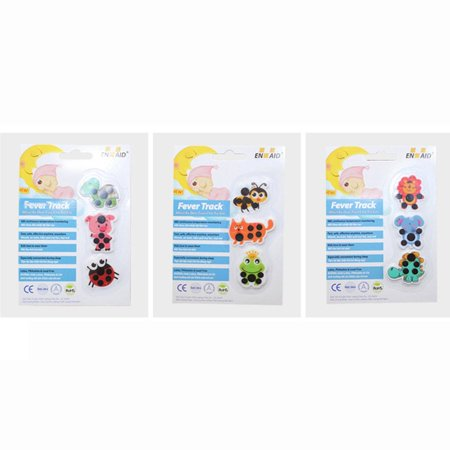Cartoon forehead thermometer child forehead temperature sticker practical - image 3 de 7