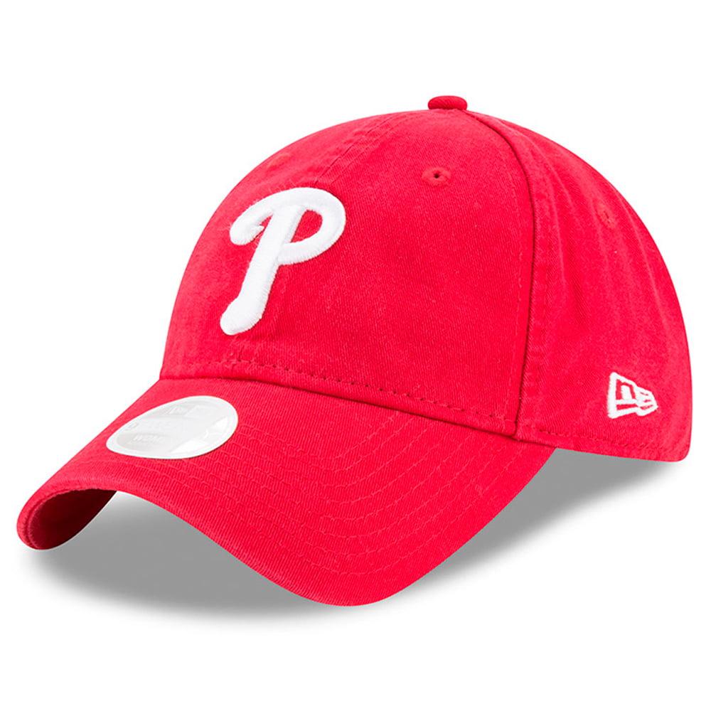New Era Philadelphia Phillies Women's Red Preferred Pick 9TWENTY Adjustable Hat - OSFA