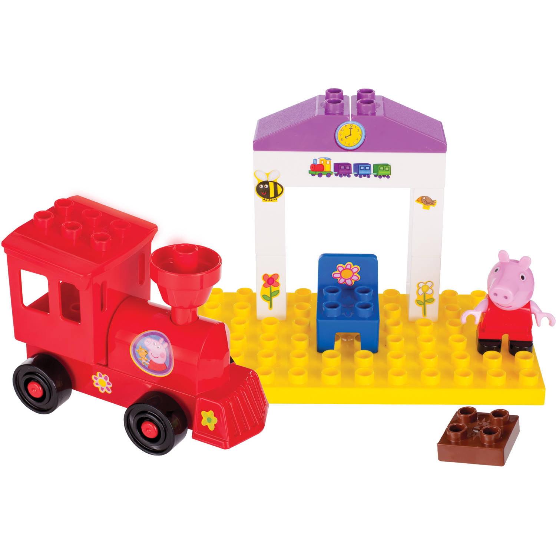 Peppa Pig's Train Station Construction Set