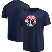 Men's Majestic Navy Washington Wizards Victory Century T-Shirt