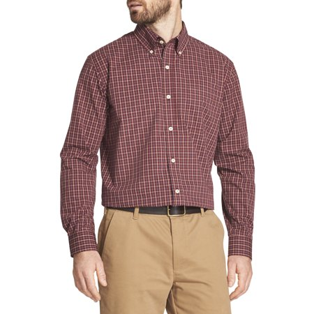 Men's Long Sleeve Hamilton Poplin Button Down (Long Sleeve Bottom Down Shirt)