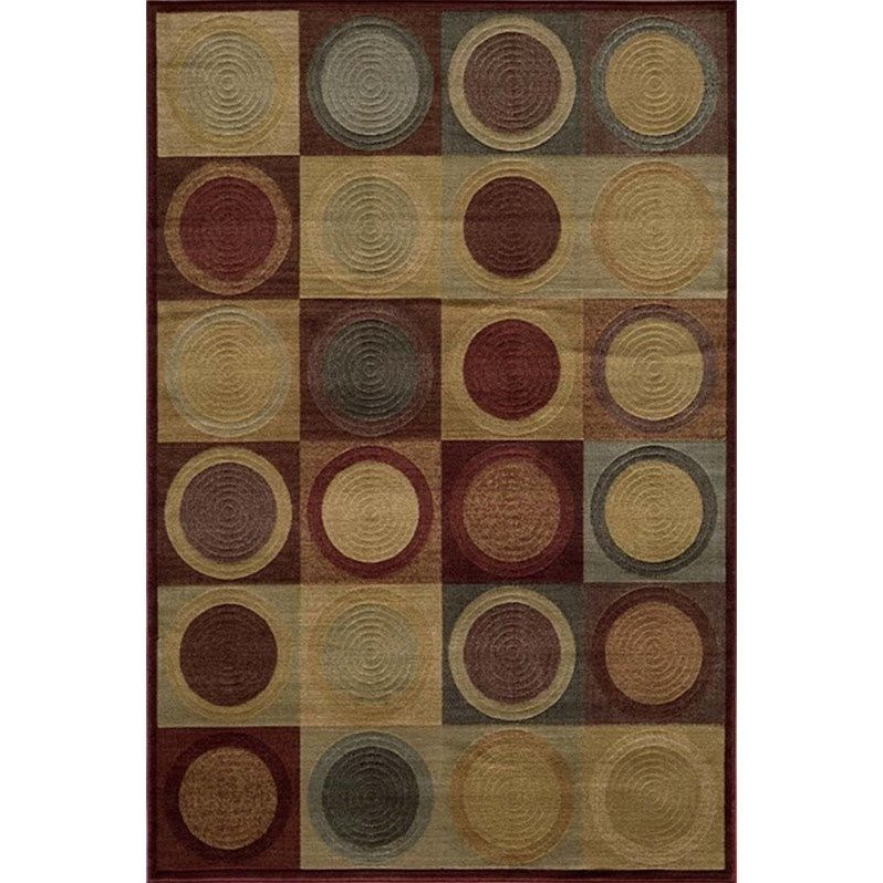 Momeni Dream Red DR-06 Area Rug