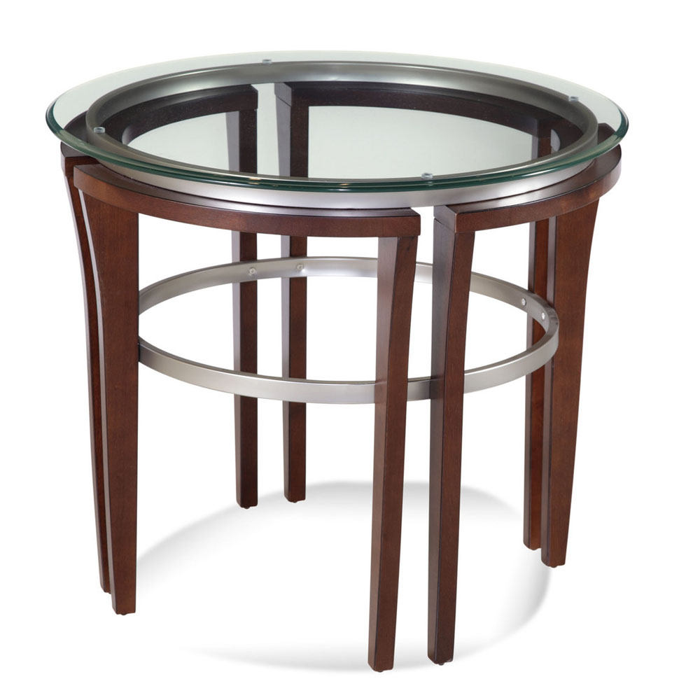 Bassett 8116-220 912 Fusion Round End Table by