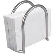Home Basics Simplicity Collection Napkin Holder, Satin Nickel