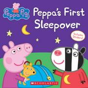 Peppa Pig: Peppa's First Sleepover (Paperback)