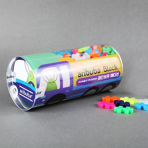 Aribuba Blocks Children Kids Bricks Toys Building Educational Nanoblock Rainbow by
