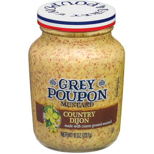 Grey Poupon: Country Dijon Mustard, 8 oz