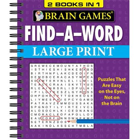 Brain Games Find a Word Large - Find A Word Halloween