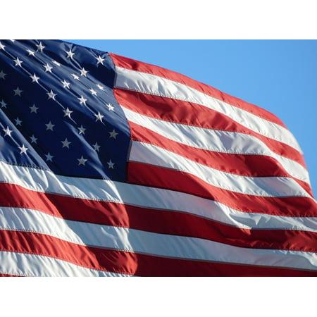 LAMINATED POSTER American Flag Symbol American Flag Waving Flag Poster  Print 24 x 36