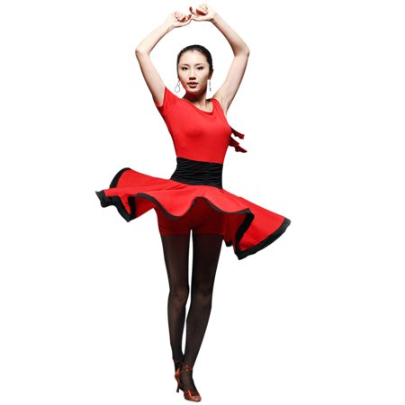 Faship Latin Tango Rumba Dance Dress - Tween Dance Dresses