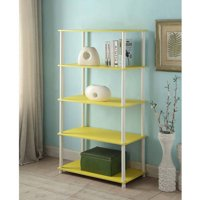 Mainstays No Tools Assembly 8-Cube Shelving Storage Unit (Yellow)
