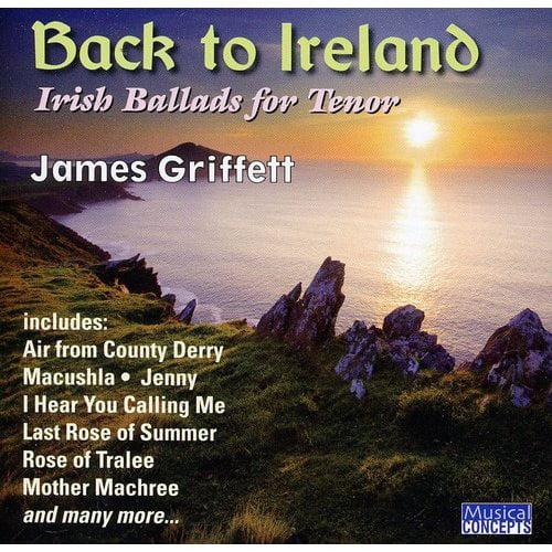 Back To Ireland: Irish Songs & Ballads For Tenor