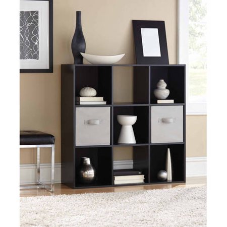 (Mainstays 9 Cube Storage Organizer, Multiple Colors)