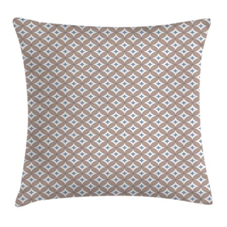 Geometric throw pillow cushion cover entwined circles for Insider design pillow