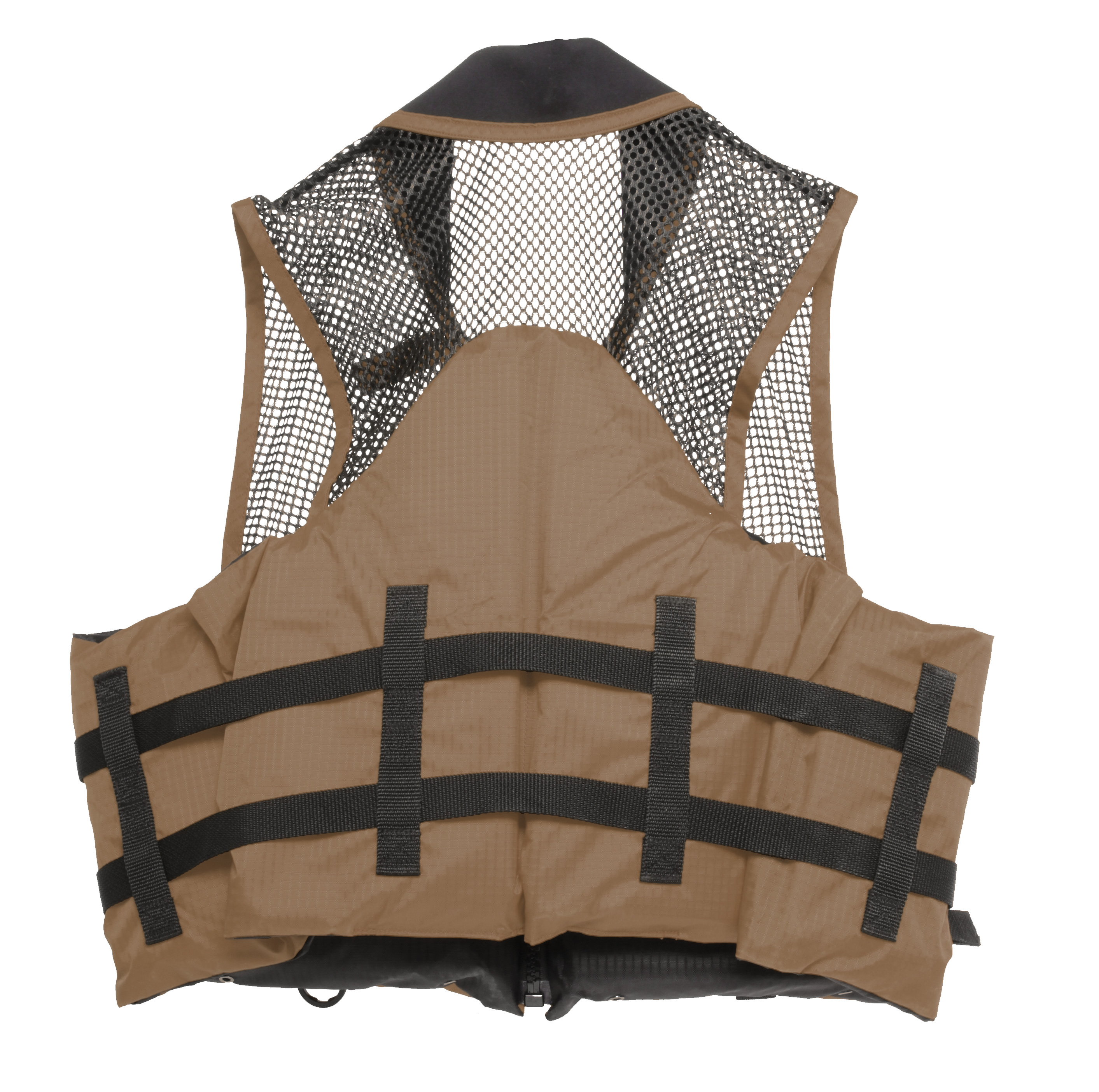 Click here to buy Deluxe Mesh Top Fishing Vest, XS, Bark by AIRHEAD SPORTS GROUP.