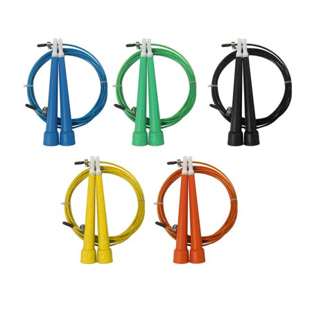 HC-TOP Steel Wire Jump Rope Ultra-speed Ball Bearing Skipping Rope Jumping Rope - image 5 of 10