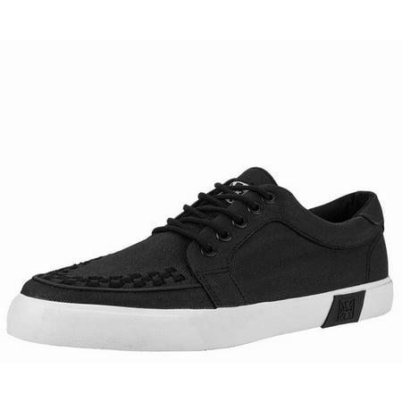 T.U.K. Shoes Black Twill No-Ring VLK Sneaker (Tuk Shoes Online)