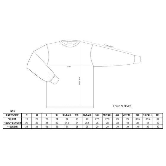 bdc36798 Pro 5 - Pro 5 Super Heavy Mens Long Sleeve T-Shirt - Walmart.com