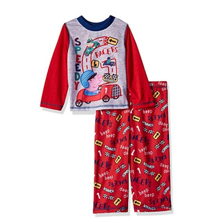 Peppa Pig Clothing (Peppa Pig Boys' Toddler George 2 Piece Jersey Sleep)