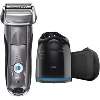 $25 Mail-In Rebate Available Braun Series 7 7865cc Wet Dry Mens Electric Shaver with Clean Station