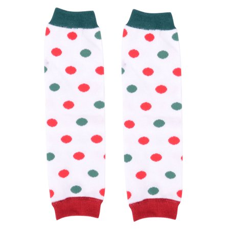 Pretty Green (Pretty Red & Green Dot Baby Sweet Leggings Legging Girl Leg Warmers)