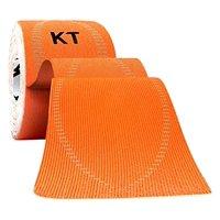 KT TAPE PRO Synthetic Elastic Kinesiology 20 Pre-Cut 10-Inch Strips Blaze Orange