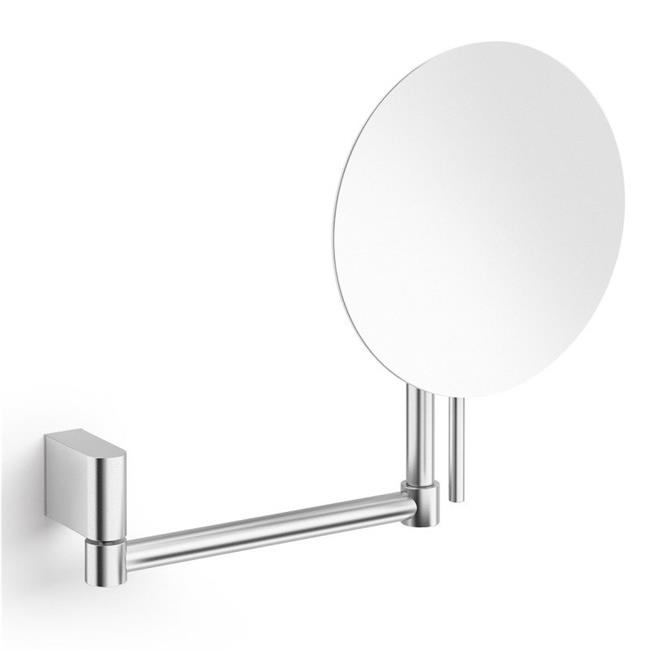 Zack 40430 Atore Cosmetic Wall Mounted Mirror - Matte Stainless Steel - image 1 of 1