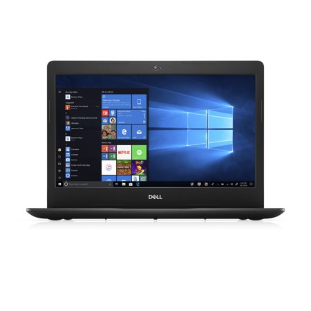 Dell Inspiron 14 3480 Laptop, 14'', Intel Core i3-8145U, 4GB RAM, 1TB HDD, Intel UHD Graphics 620, Windows 10 Home, i3480-3879BLK-PUS