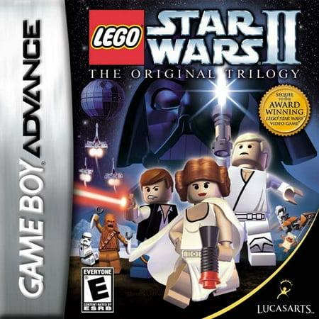 Lego Star Wars II: The Original Trilogy - Nintendo Gameboy Advance GBA (Nba All Star Challenge 2 Game Boy)