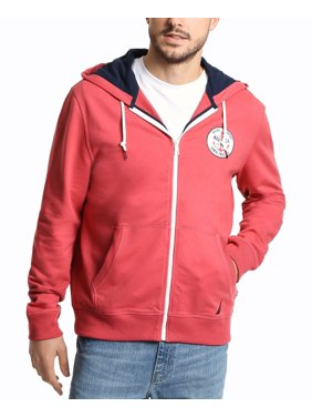 Mens Coral Cape Hooded Full-Zip Jacket 2XL
