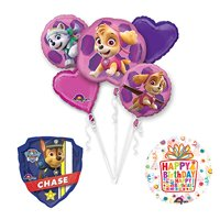PAW PATROL SKYE & EVEREST Party Balloons Decoration Supplies 27 Inch Chase Ma...
